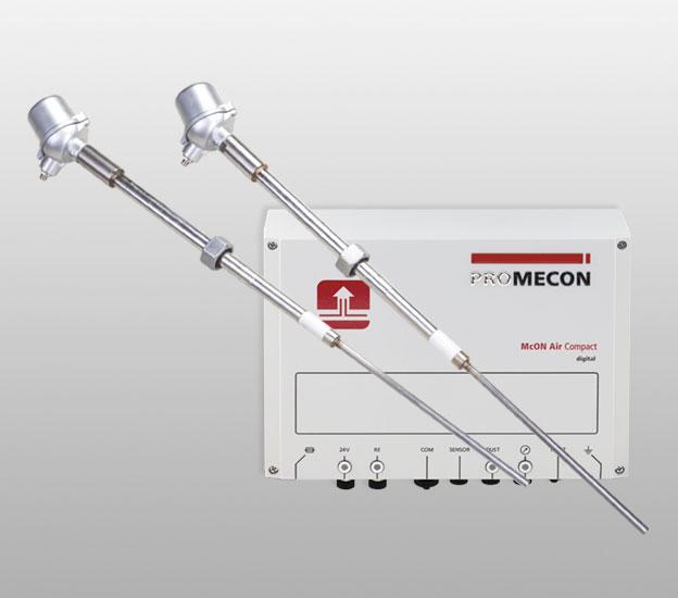 PROMECON McON Air. Prędkość i objętość powietrza. Pomiar, monitorowanie i optymalizacja. Krótka charakterystyka produktu.